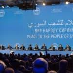 Конгресс национального диалога Сирии в Сочи. 30 январь 2018г